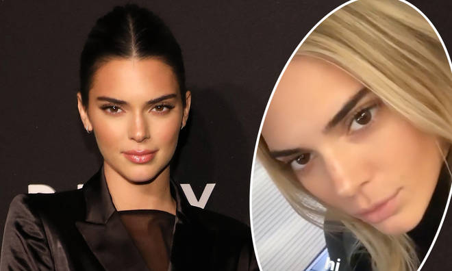 Kendall Jenner has ditched her dark locks