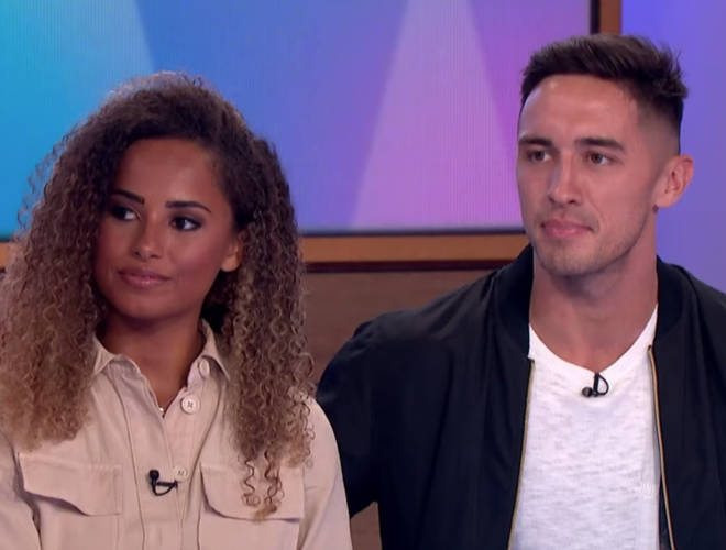 Amber and Greg called time on their romance 5 weeks after winning Love Island.