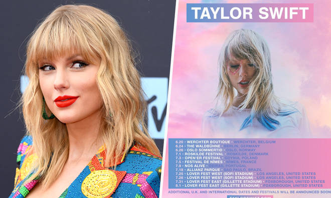 Fans think they know why Taylor Swift is touring next summer