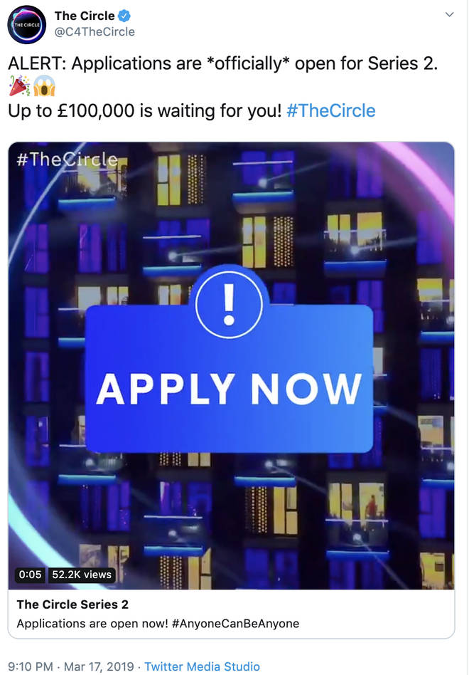 The Circle application