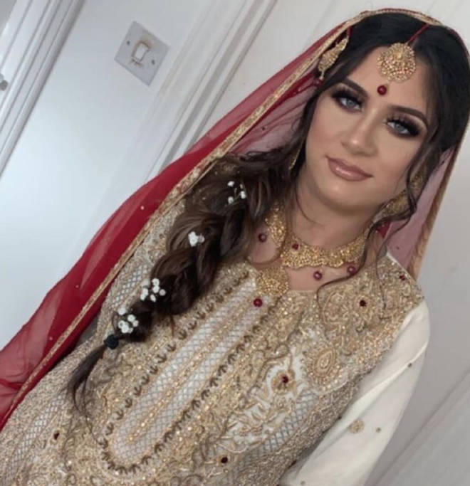 Safaa Malik got married just three days after turning 17