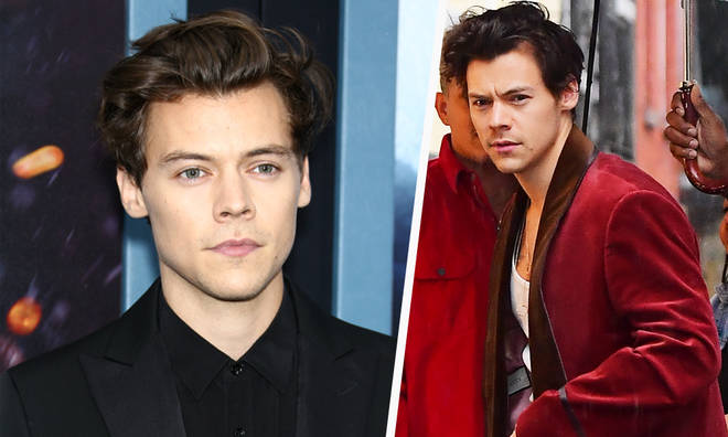 Harry Styles parks romance rumours being papped with a 'mystery woman'