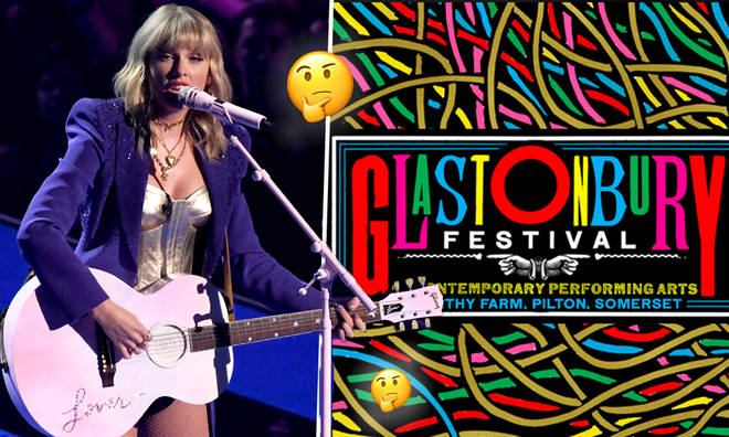 There's a pretty big clue Taylor will be playing Glastonbury 2020