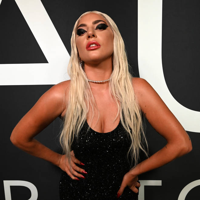Lady Gaga attends Lady Gaga Celebrates the Launch of Haus Laboratories
