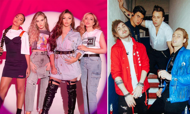 Little Mix and 5SOS would make the most incredible collab!