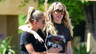 Miley Cyrus has split from her girlfriend, Kaitlynn Carter