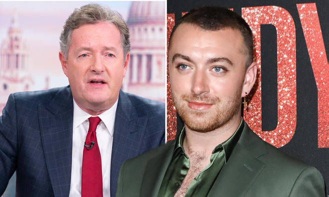 Piers Morgan has accused Sam Smith of being the reason the Brits are axing gender categories