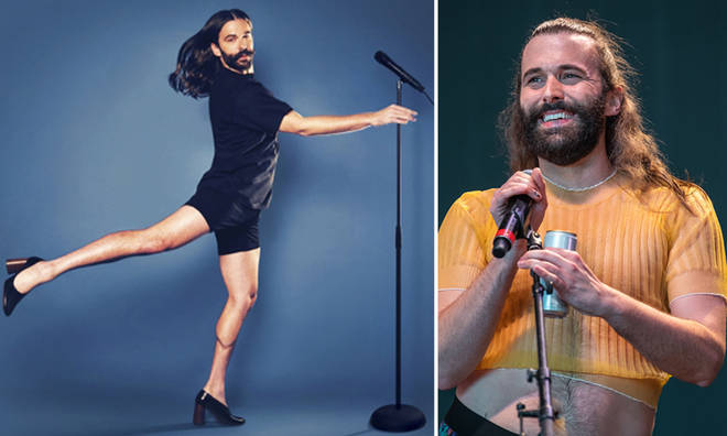Jonathan Van Ness is bringing his stand-up tour to the UK and Ireland