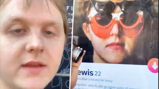 Lewis Capaldi is giving tickets to anyone who matches him on Tinder