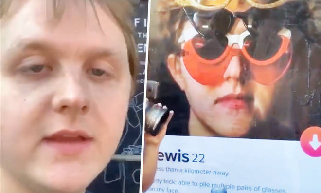 Lewis Capaldi promises tickets to people who match him on Tinder