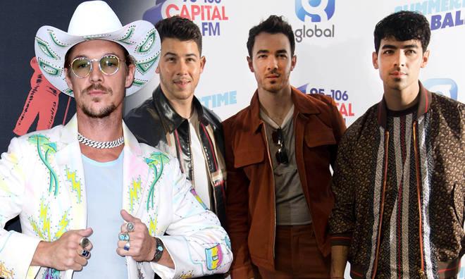 Diplo hacked the Jonas Brothers' Instagram account