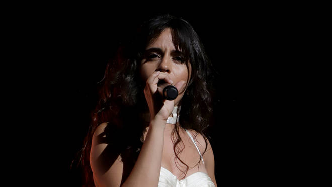 Camila Cabello Performs Live During Private Concert