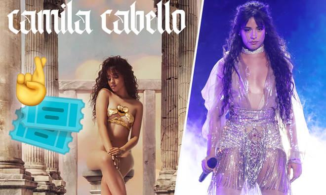 Win tickets to a Camila Cabello fan event