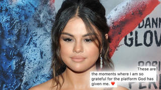 Selena Gomez opened up about her difficult past year