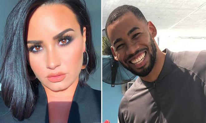Mike Johnson called Demi Lovato 'a good kisser'