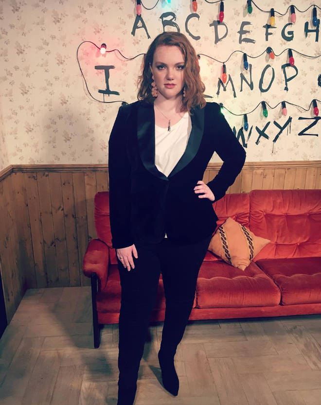 Barb was played by Shannon Purser