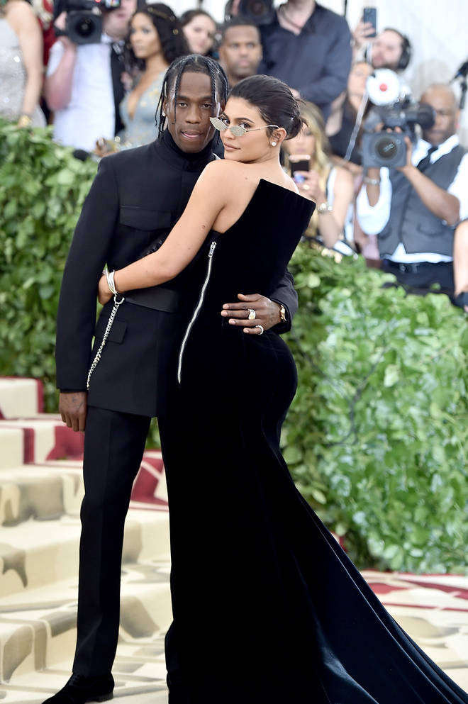 Kylie Jenner and Travis Scott made their red carpet debut at the Met Gala 2018