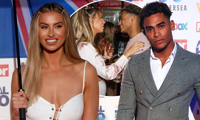 Ferne McCann has opened up about her kiss with Jordan Hames
