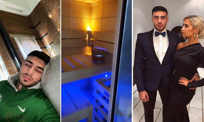 Tommy Fury shows off swanky flat he shares with Molly-Mae Hague