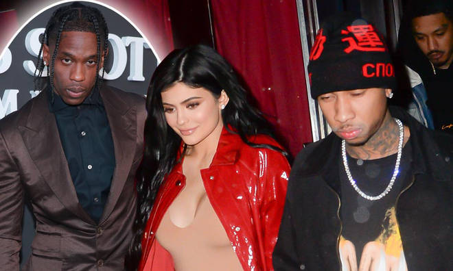 Kylie Jenner was seen heading to ex Tyga's studio