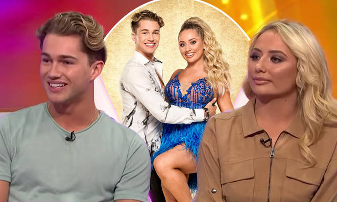 AJ Pritchard and Saffron Barker were quizzed on whether they've had sex