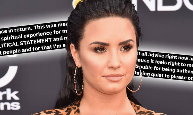 Demi Lovato apologised to those offended by her trip to Israel