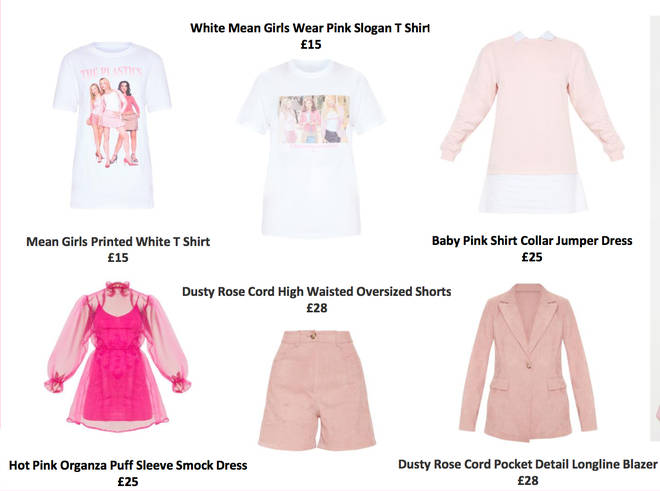 Pretty Little Thing drop a 'Mean Girls' inspired collection
