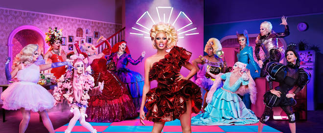 RuPaul's Drag Race UK is the show's first series over here