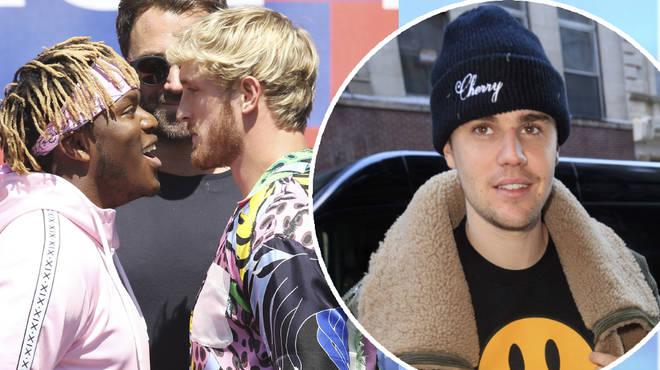 KSI responds to Justin Bieber over Logan Paul fight