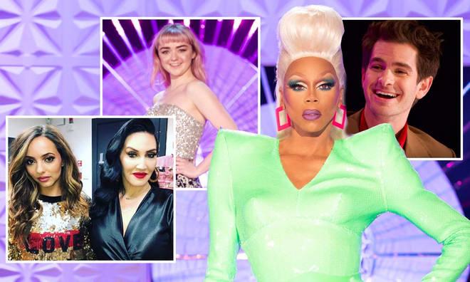 RuPaul's Drag Race UK has an array of celeb guest panelists