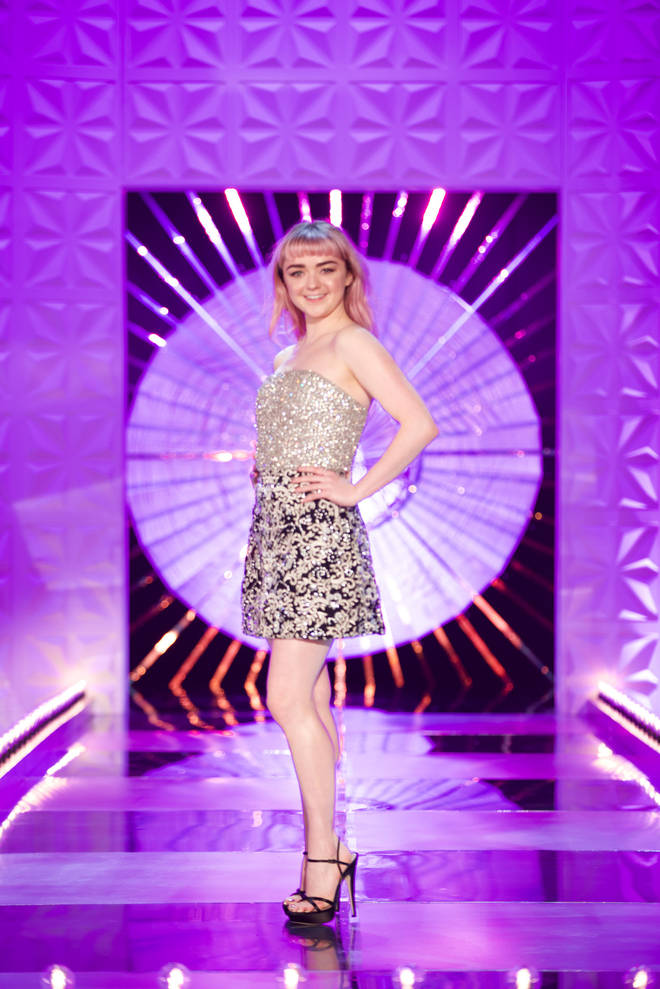 Maisie Williams said she couldn't wait to be part of RuPaul's Drag Race UK