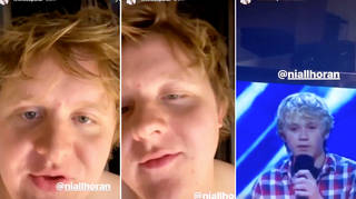 Lewis Capaldi goes on hilarious rant about Niall Horan's 'filthy' new music video