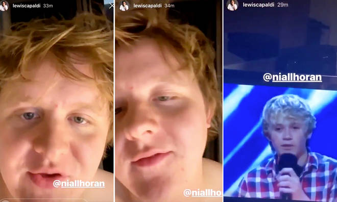 Lewis Capaldi's commentary to Niall Horan's 'smutty' new music video is everything