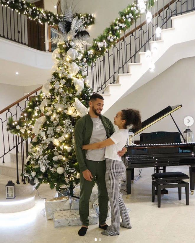 Leigh-Anne and boyfriend Andre bought their home in August 2018
