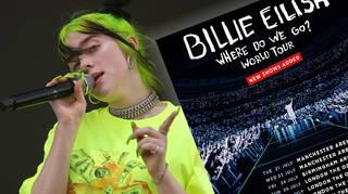 Billie Eilish announces extra dates to her UK tour