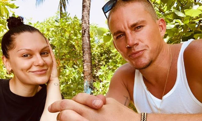 Jessie J and Channing Tatum have been together for about a year