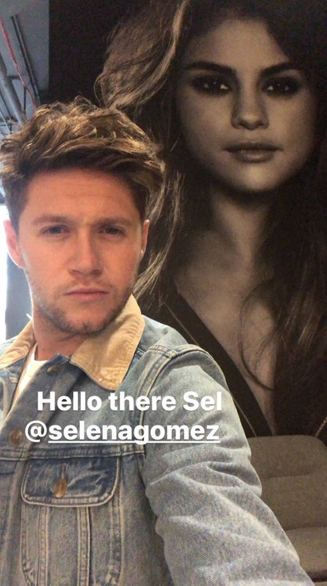 Niall Horan posts about Selena Gomez to his Instagram