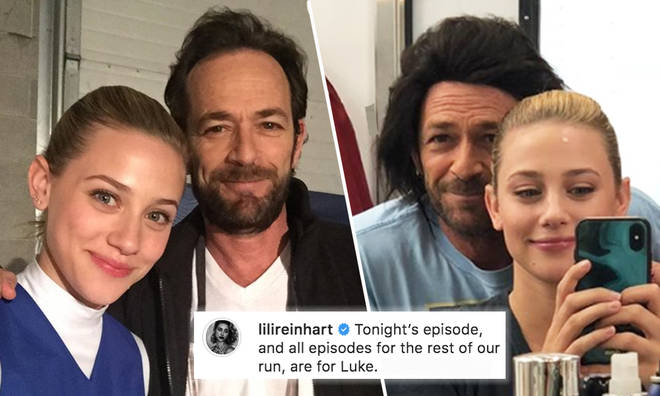 Lili Reinhart shares emotional memories of Luke Perry with Riverdale fans