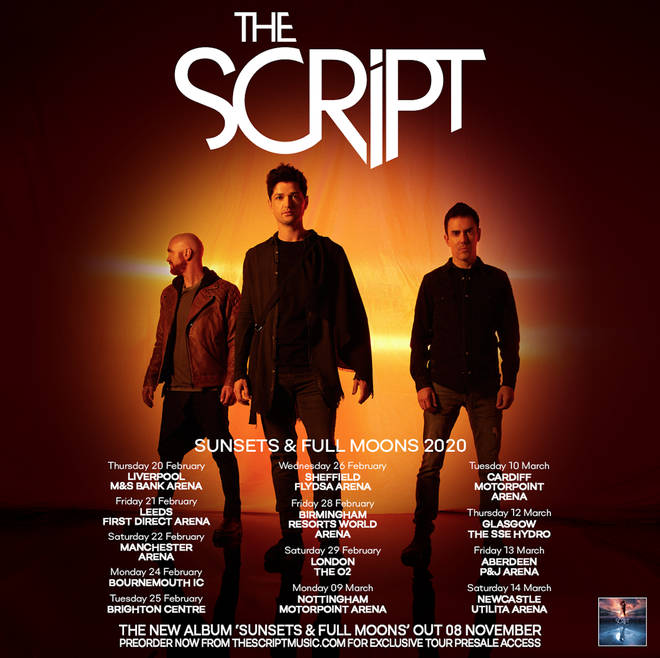The Script are heading out on tour in the UK in 2020