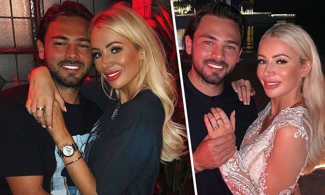 Olivia Attwood is engaged to footballer boyfriend Bradley Dack