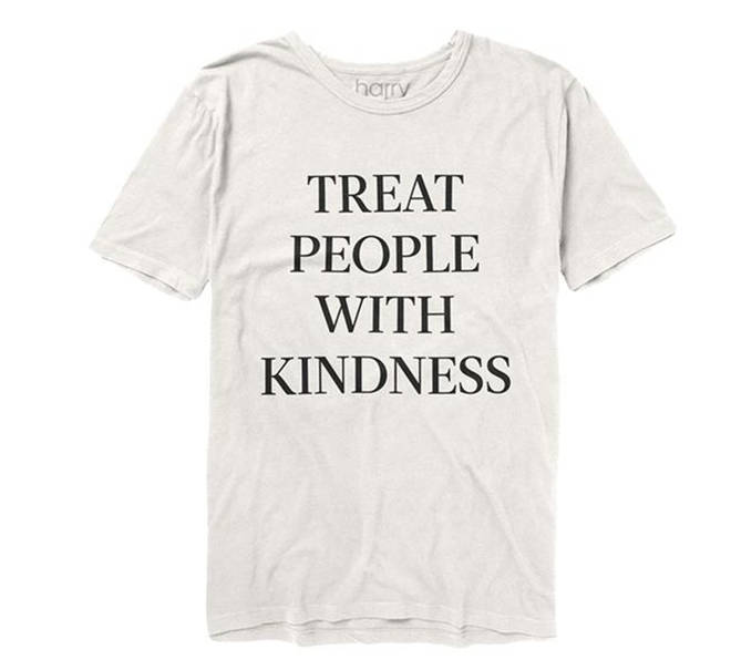 Harry Styles 'Treat People With Kindness' merchandise