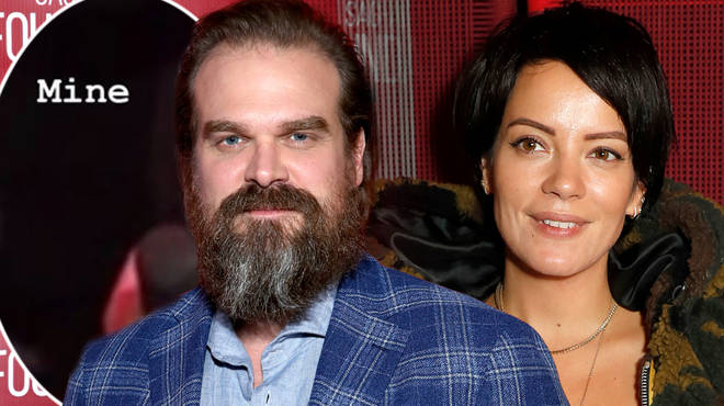 Lily Allen and David Harbour are dating