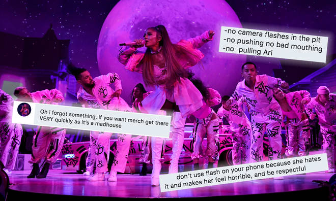 Ariana Grande fans share their best Sweetener show advice