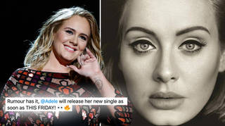 Adele is apparently releasing her new single on Friday 18 October