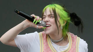 Billie Eilish had her ring taken from her hand at a festival
