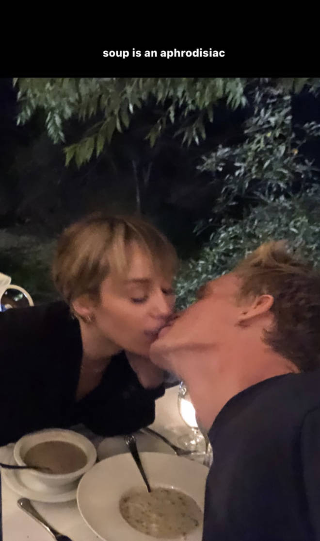 Miley Cyrus and Cody Simpson shared an intimate post on Instagram.