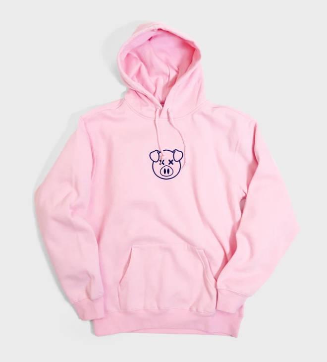 The pig hoodie was a popular choice amongst Shane Dawson fans