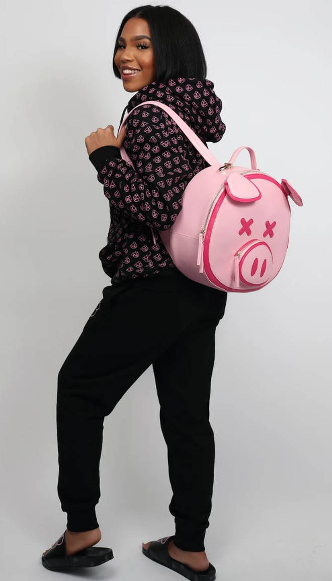 The pig backpack sold out in 15 minutes according to fans