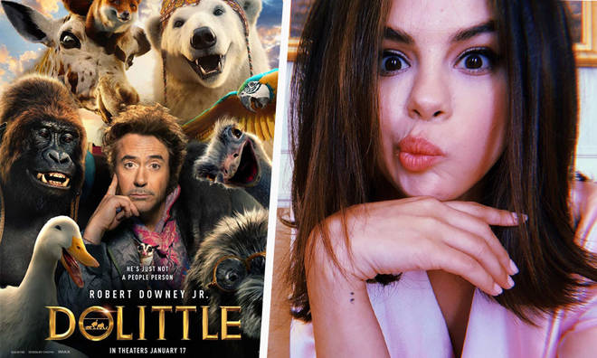 Selena Gomez voicing the giraffe in 'Dolittle'