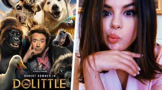 Selena Gomez voicing the giraffe in 'Dolittle'